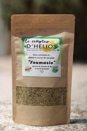 Le Foumasio, un gomasio 100% français